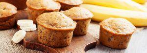 Muffin integrale alle banane, ricette sane da fare nel tempo libero
