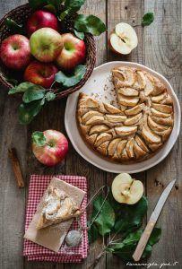 torta di mele e cannella, genitori e figli tempo libero