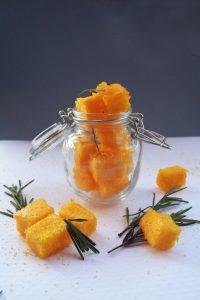cubetti di polenta, ricette sane, dimagrire senza fatica