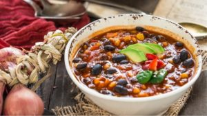 chili vegetariano: ricetta