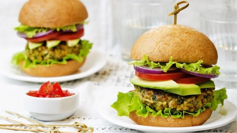 hamburger di ceci: ricetta