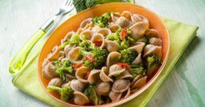 orecchiette integrali con broccoli: ricetta