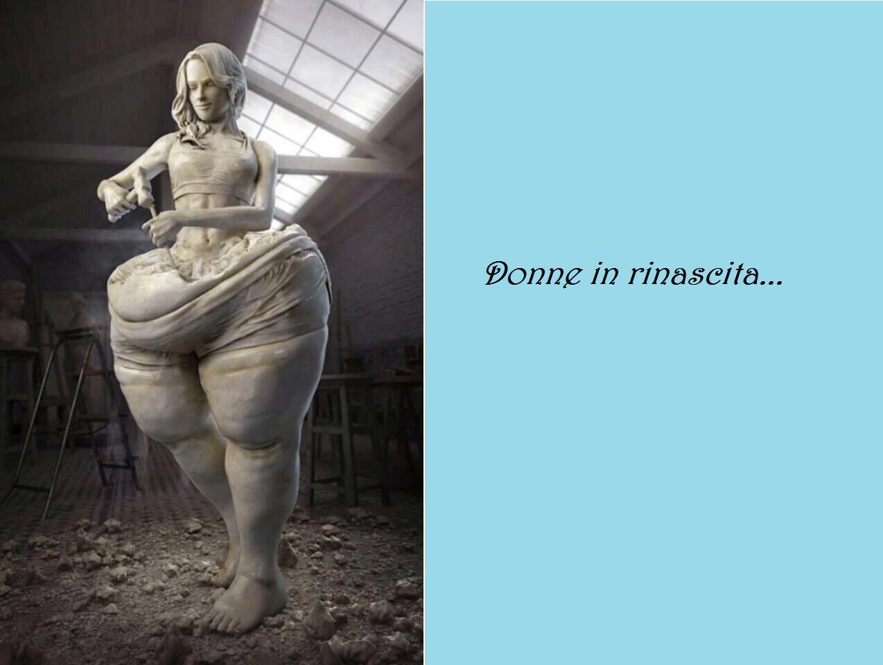 La Isy Galla e la statua che disturba le coscienze
