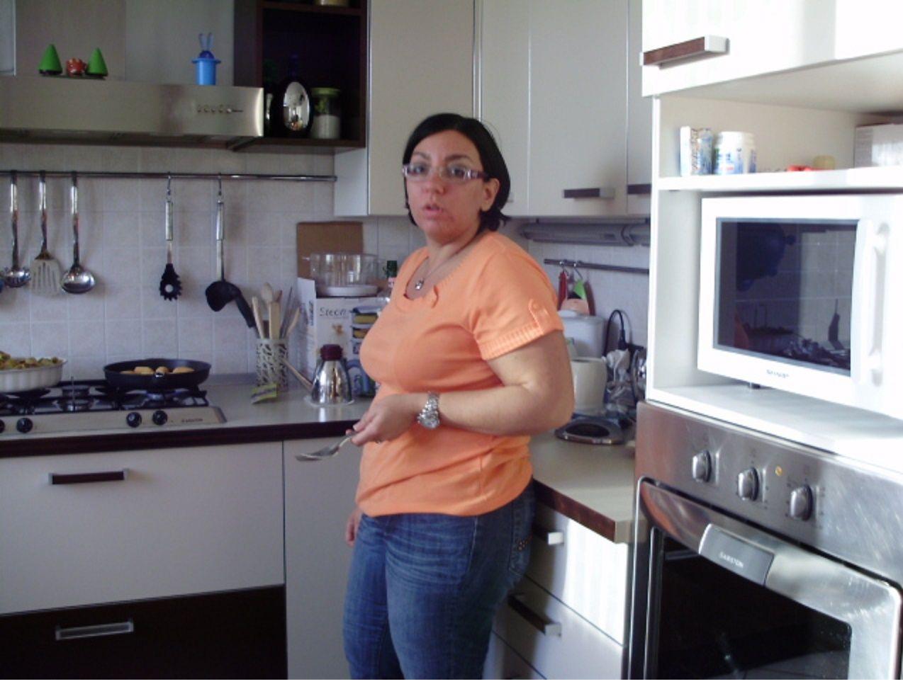 La Isy Galla in cucina