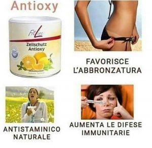 Fitline Antioxy contro le allergie, per alzare le difese immunitarie e un aiuto all'abbronzatura